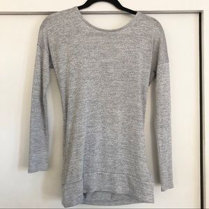 Athleta racerback Sweater xxs